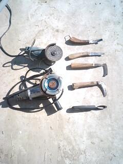 削蹄の道具