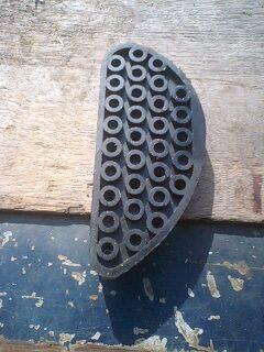 削蹄用ブロック