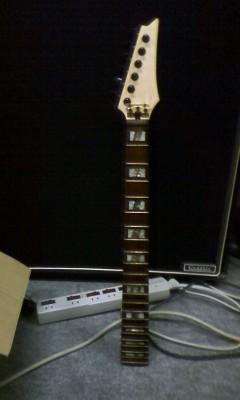 ギターの塗装
